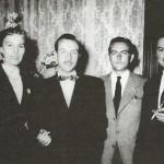 Martial (le moustachu) avec Jean)Michel Charlier (à droite)/