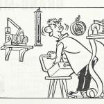 « Isidore », série muette créée au temps de la World's pour un magazine flamand.