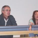 Marie-Pierre Larrivé et François Bourgeon © Brieg F. Haslé