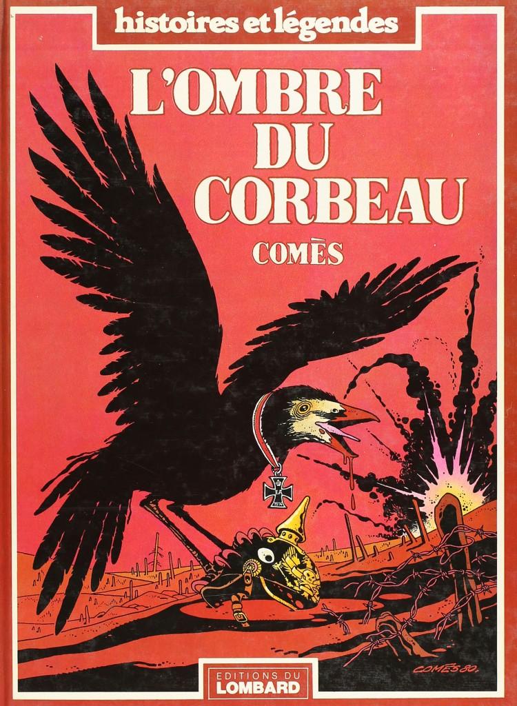 L'ombres du corbeau... et de la Mort : couverture et planche 22 (1981)