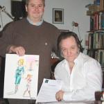 Guillaume Belloy et Jaap de Boer.