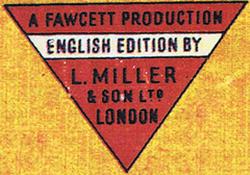 Le premier sigle de L. Miller & Son, Ltd.