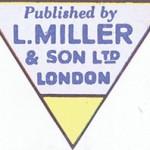 Le nouveau sigle de L. Miller & Son, Ltd., sans la mention de Fawcett.