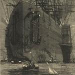 """Illustration de Jules Férat et Adolphe-François Pannemaker pour """"La Ville flottante"""" par Jules Verne (éd. Hetzel, 1872)"""