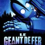 """Affiche française pour """" Le Géant de fer """" (1999)"""