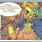 « Los Mayas », dans le magazine Piñón.