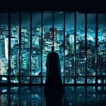 "oster teaser pour ""Batman, The Dark Knight : Le Chevalier noir"" par le studio Crew Creative Advertising (2008)"