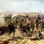 La Bataille d'Essling (huile sur toile) par Fernand Cormon. Musée des Beaux-Arts, Mulhouse.