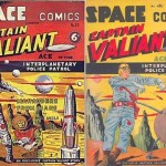 Quelques couvertures de Ace Malloy et Space Comics.