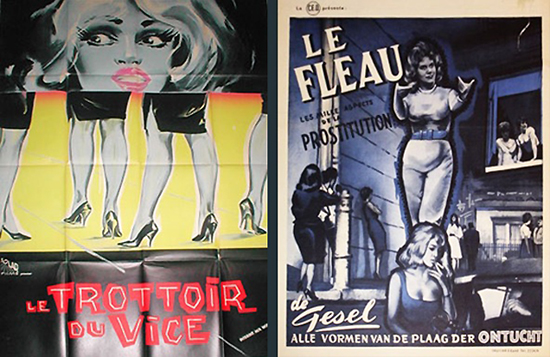 L'affiche française de « West End Jungle » (1961) de Miller & Long.