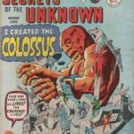 La revue Secrets of the Unknown d'Alan Cass, Ltd. réédite les comics Atlas-Marvel de Kirby à partir des plaques d'impression de Miller.