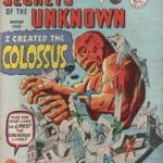 La revue Secrets of the Unknown d'Alan Cass, Ltd. réédite les comics Atlas-Marvel de Kirby à partir des plaques d'impression de Miller.