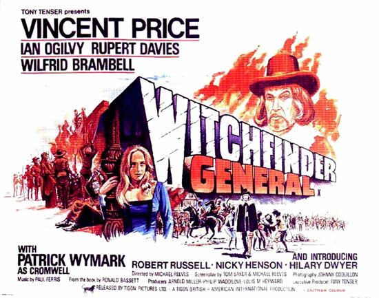 « The Witchfinder General » alias « Le Grand Inquisiteur » (Michael Reeves, 1968).