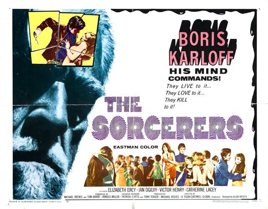 « The Sorcerers », avec Boris Karloff.