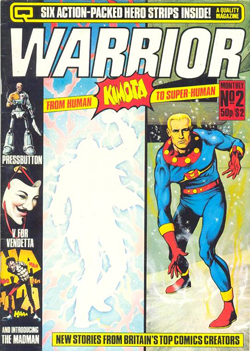 Marvelman dans Warrior.