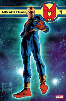 Miracleman n°1, sorti chez Marvel en janvier 2014.