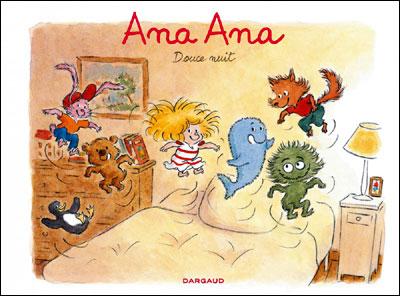 Ana Ana Douce nuit couverture