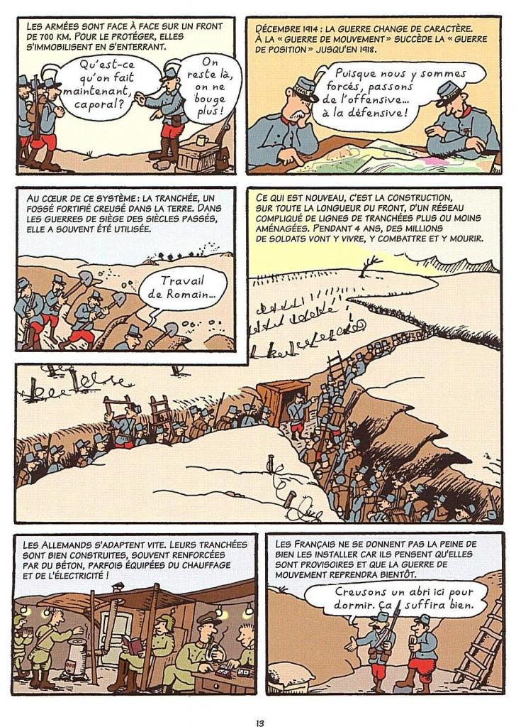 L'Histoire de France en BD 14 18