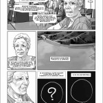 Extrait de l'album (page 33) : témoignage de Mme Laugier (Delcourt, 2014)