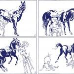 san-mao-cheval