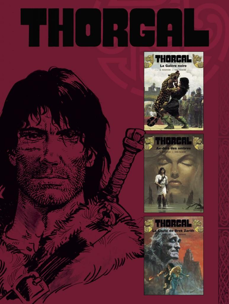 Le Cycle de Brek Zarith : intégrale Thorgal, tomes 4 à 6 (France Loisirs, août 2013)
