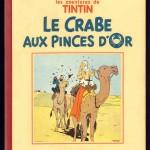 Hergé fut très insatisfait de la petite image du « Crabe » dont les couleurs furent indiquées par calque.