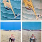 Mise en couleur et tirage pour 2 des 4 hors-texte du « Crabe aux pinces d'or ».