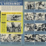 « L'Archange » dans le n° 115 de Pilote.