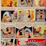 René Goscinny caricaturé par Jean Ache dans un épisode d'« Archibald » publié dans le n° 337 de Pilote, daté du 7 avril 1966.