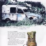 Une page des « Carnets de Saint-Jacques-de-Compostelle ».
