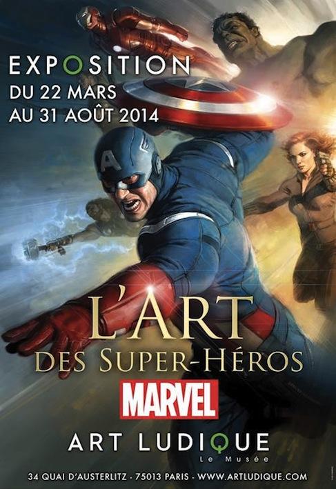 Expo Marvel art ludique