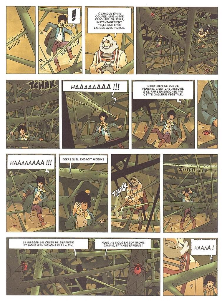La Malédiction des sept boules vertes page 28