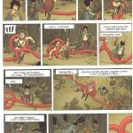 La Malédiction des sept boules vertes page 36