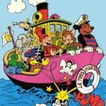 Couverture d'un Pif spécial comique de juin 1980 dessinée par Michel Motti.
