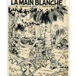 Couverture originale par Will : encre de Chine et crayon (Dupuis, 1956). Les débuts de Choc...