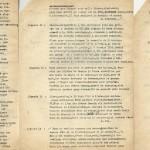 Pages 3, 4 et 5 du tapuscrit pour « La Première Traversée aérienne de la Manche ».