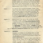 Page 2 du tapuscrit pour « La Première Traversée aérienne de la Manche ».