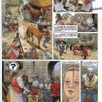 Extrait du tome 14 des « Chemins de Malefosse » dessiné par Brice Goepfert.
