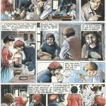 """Planche d'essai pour un """"one-shot"""" refusé par les éditions Glénat en 1980."""