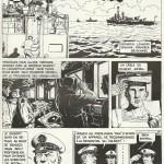 « L'Escadre », six planches publiées dans le n° 47 de Fluide glacial, en mai 1980.