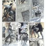 Une page du tome 1 de « Malefosse » par François Dermaut et Xavier Gelot.