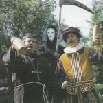 Bardet et Dermaut en costumes d'époque.