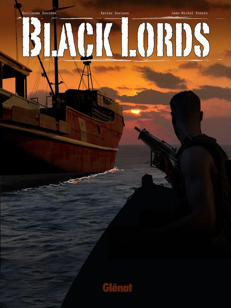 Premières études pour la couverture de Black Lord