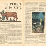 « Le Prince et les sots » dans Spirou, en 1951.