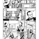 Encrage de la planche 10 par Laci : Holmes, paisible libraire...
