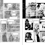 Crayonné et encrage par Laci pour la planche 31 de l'album (Soleil Prod. - 2014)