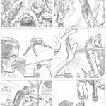 Planche d'essais de Daredevil n° 12.