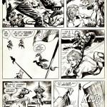 La page 25 (encrée par Alfredo Alcala) de Kamandi n° 48.