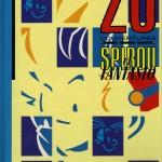 Vingt couvertures pour Spirou et Fantasio - 1er plat et visuel par Le Gall (1987)
