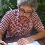 Denis Vierge en résidence à La Réunion.